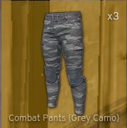 Combat Pants[Grey camo]