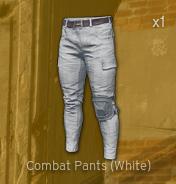 Combat Pants[White]