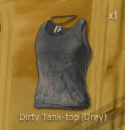 Dirty Tank-Top[Grey]