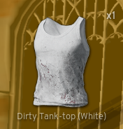Dirty Tank-Top[White]