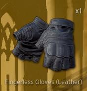 Fingerless Gloves[Leather]