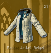 Padded Jacket[Beige]