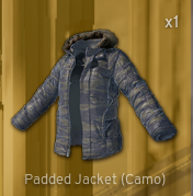 Padded Jacket[Khaki]