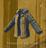 Padded Jacket[Camo]