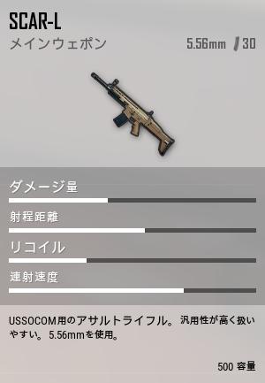 SCAR-Lゲーム内