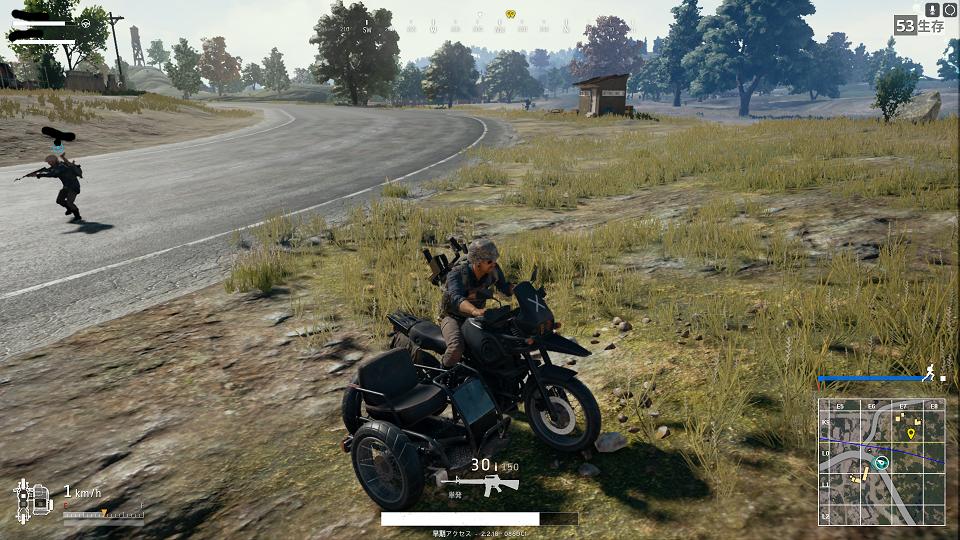 バイク(サイドカー)