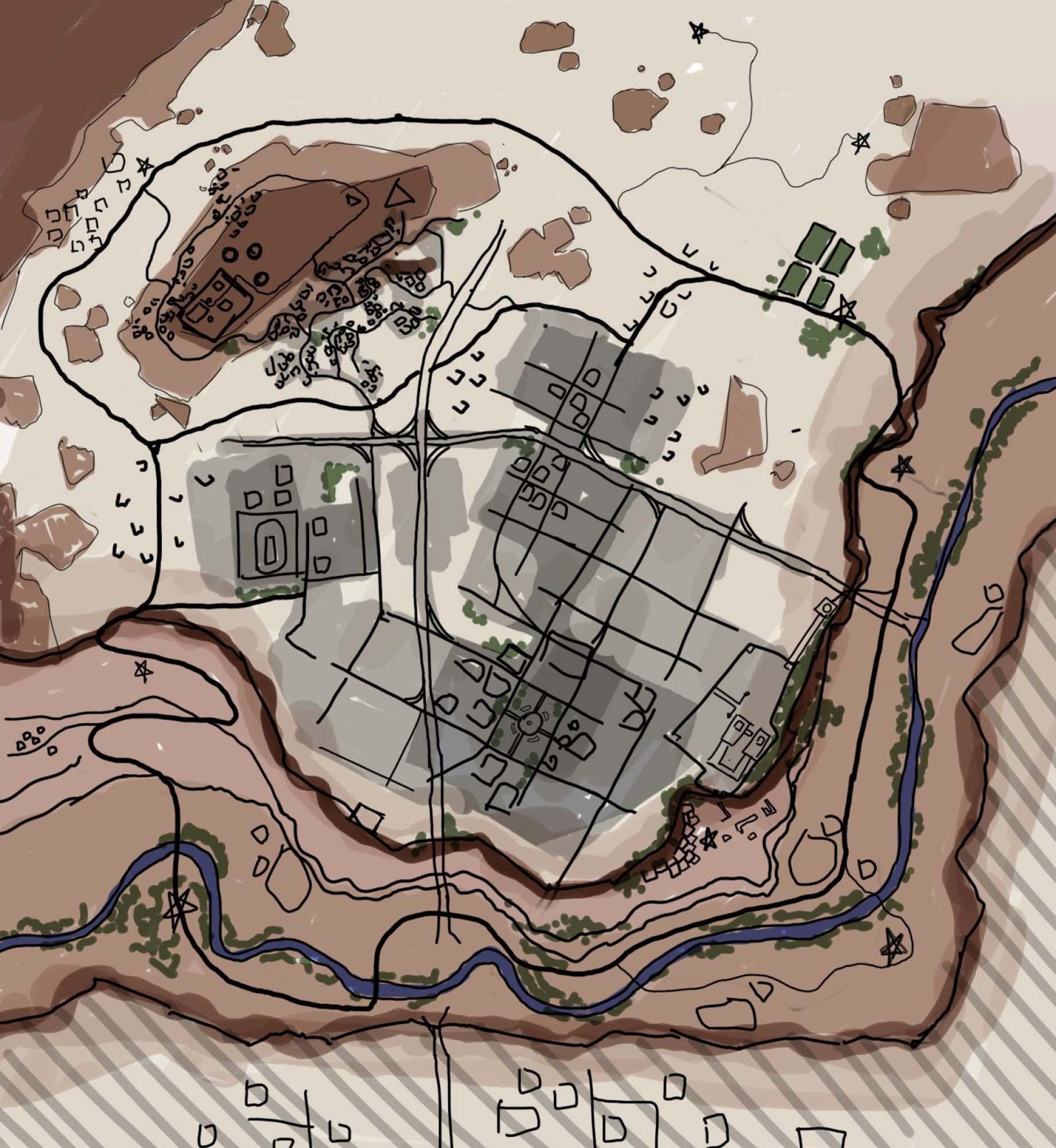 砂漠の町プレビュー1